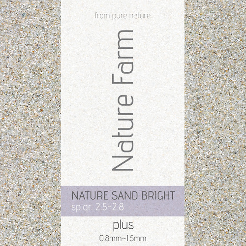 네이처팜 Nature Sand BRIGHT_plus (2kg)